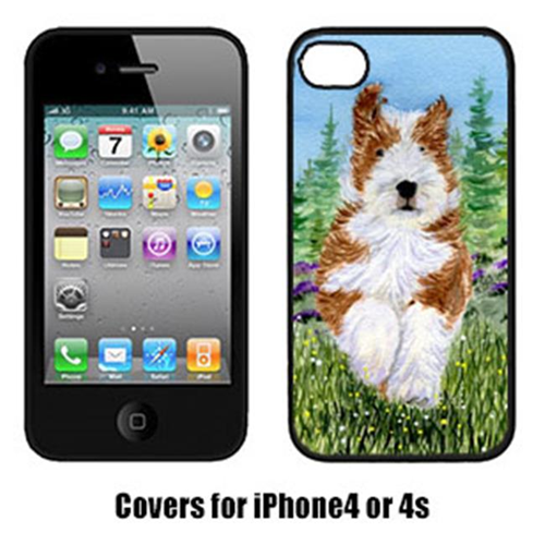 Carolines Treasures SS8320IP4 Bearded Collie Cell Phone cover IPhone 4