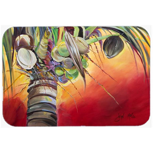 Carolines Treasures JMK1133MP Sunset On The Coconut Tree Mouse Pad Hot Pad & Trivet