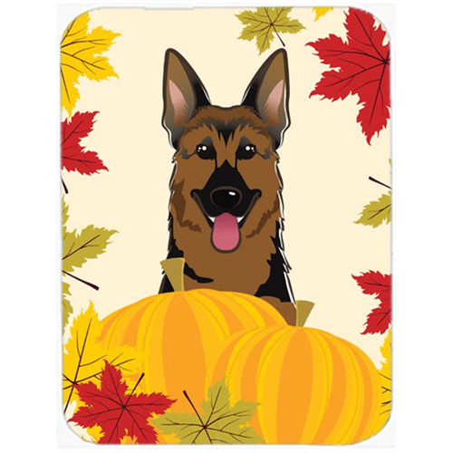 Carolines Treasures BB2017MP German Shepherd Thanksgiving Mouse Pad Hot Pad or Trivet