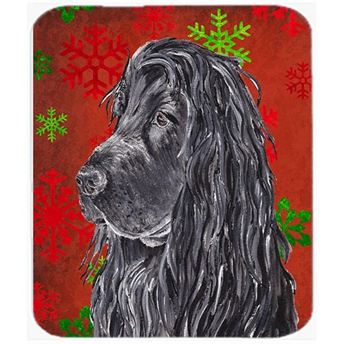 Carolines Treasures SC9583MP 7.75 x 9.25 in. English Cocker Spaniel Red Snowflake Christmas Mouse Pad Hot Pad or Trivet