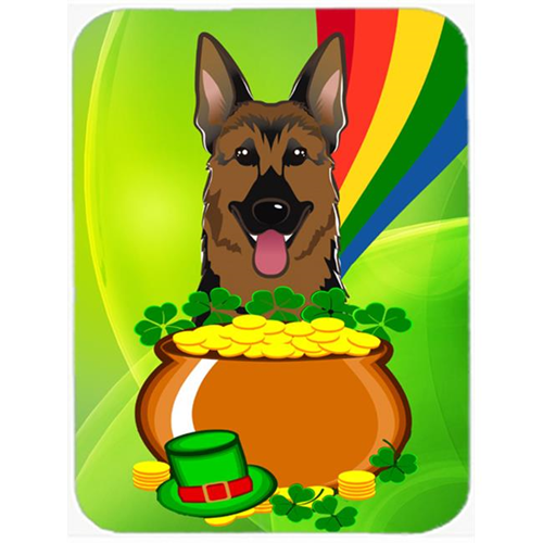 Carolines Treasures BB1955MP German Shepherd St. Patricks Day Mouse Pad Hot Pad or Trivet