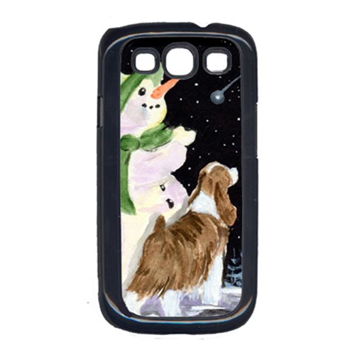 Carolines Treasures SS8949GALAXYSIII Snowman With English Springer Spaniel Galaxy S111 Cell Phone Cover