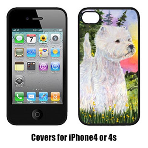 Carolines Treasures SS1067IP4 Westie Iphone 4 Cover