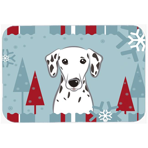 Carolines Treasures BB1706MP Winter Holiday Dalmatian Mouse Pad Hot Pad & Trivet