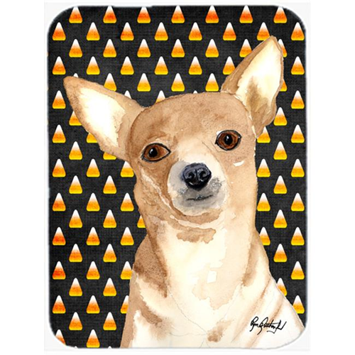 Carolines Treasures RDR3016MP 7.75 x 9.25 In. Candy Corn Chihuahua Halloween Mouse Pad Hot Pad or Trivet