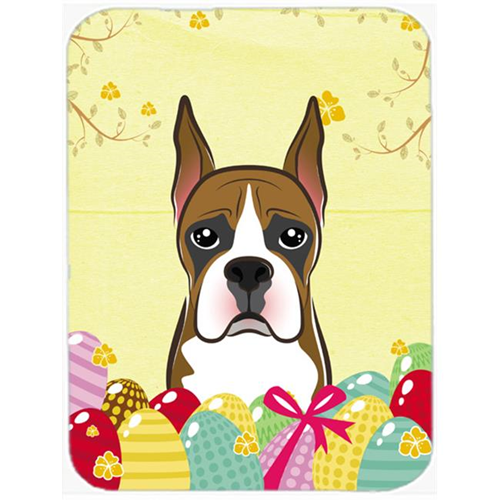 Carolines Treasures BB1905MP Boxer Easter Egg Hunt Mouse Pad Hot Pad or Trivet