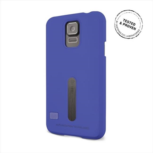 Vest Fitted Hard Shell Case for Samsung Galaxy S5 - Blue
