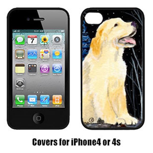 Carolines Treasures SS8934IP4 Golden Retriever Iphone 4 Cover
