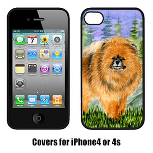 Carolines Treasures SS8459IP4 Pomeranian Cell Phone Cover Iphone 4