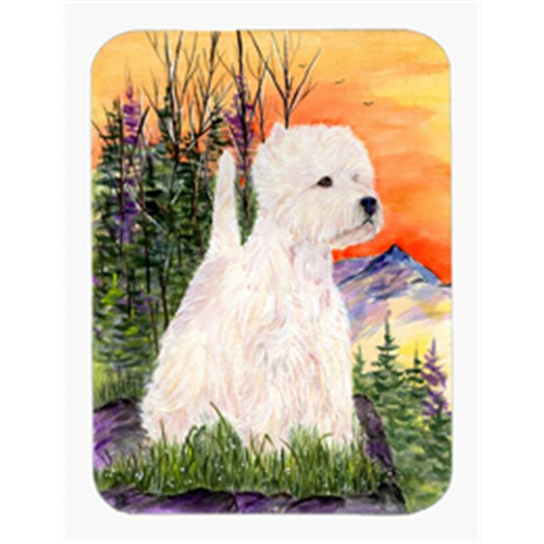 Carolines Treasures SS1013MP 8 x 9.5 in. Westie Mouse Pad Hot Pad or Trivet