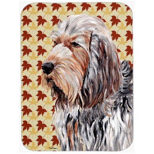 Carolines Treasures SC9684MP Otterhound Fall Leaves Mouse Pad Hot Pad Or Trivet 7.75 x 9.25 In.