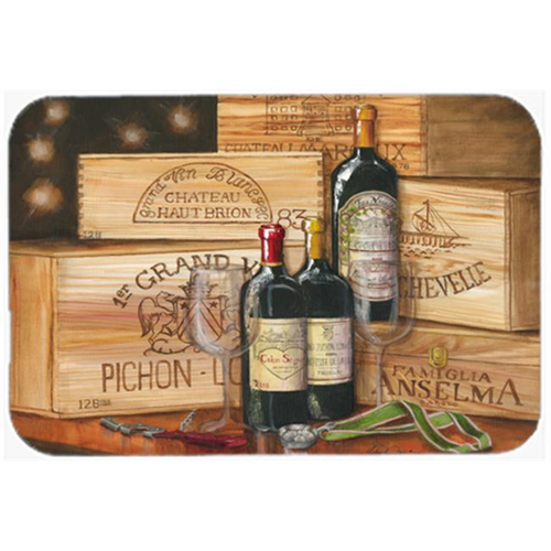 Carolines Treasures TMTR0254MP Wine Gran Vin by Malenda Trick Mouse Pad Hot Pad or Trivet