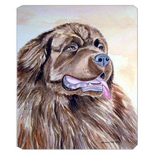 Carolines Treasures 7119MP 8 x 9.5 in. Chocolate Brown Newfie Newfoundland Mouse Pad Hot Pad Or Trivet