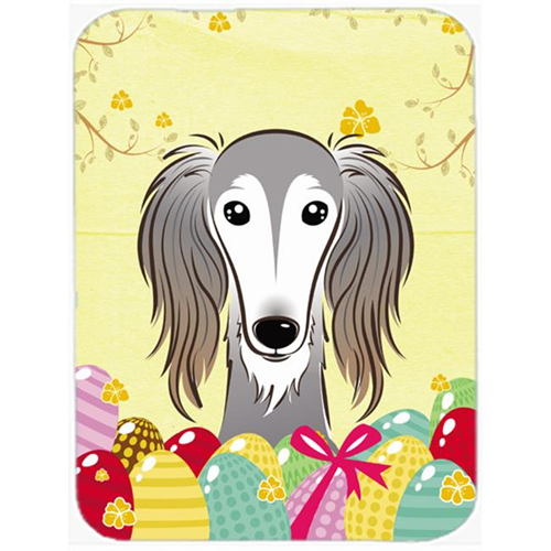 Carolines Treasures BB1911MP Saluki Easter Egg Hunt Mouse Pad Hot Pad or Trivet