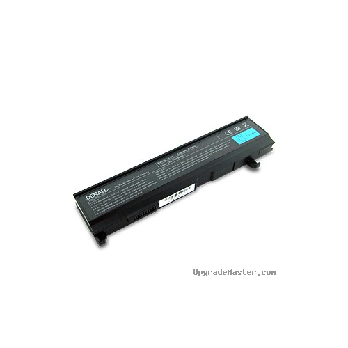 Denaq DQ-PA3399U-6 High Capacity Battery for Toshiba Tecra A3 Laptops- 4400mAh