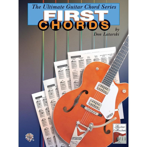 Alfred 00-0370B The Ultimate Guitar Chord Series- First Chords ...