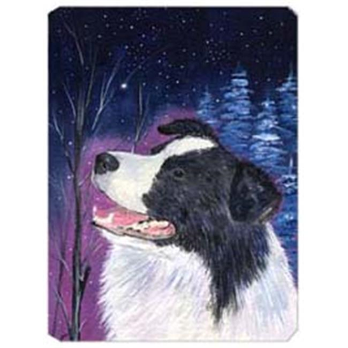 Carolines Treasures SS8369MP Starry Night Border Collie Mouse Pad