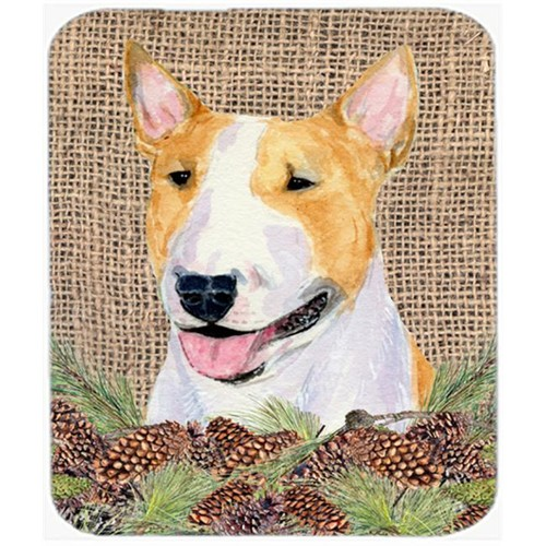 Carolines Treasures SS4086MP Bull Terrier Mouse Pad Hot Pad Or Trivet