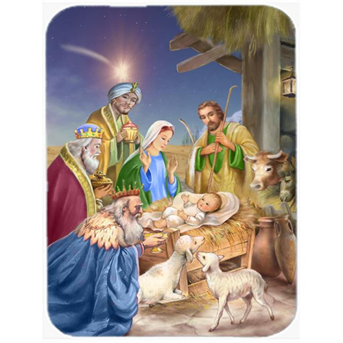 Carolines Treasures APH6897MP Christmas Nativity with Wise Men Mouse Pad Hot Pad or Trivet