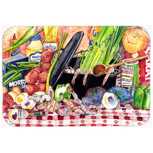 Carolines Treasures 8825MP 9.5 x 8 in. Gumbo and Potato Salad Mouse Pad