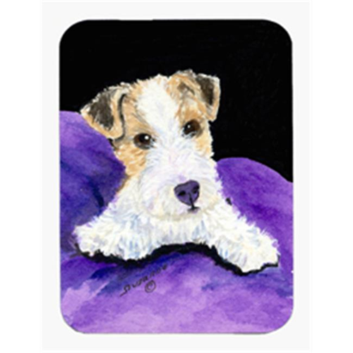 Carolines Treasures SS8971MP Fox Terrier Mouse Pad & Hot Pad & Trivet