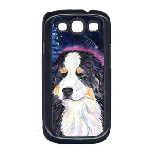 Carolines Treasures SS8446GALAXYSIII Starry Night Bernese Mountain Dog Cell Phone Cover Galaxy S111
