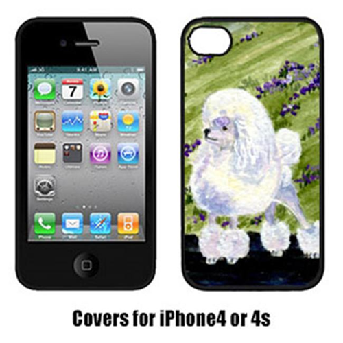 Carolines Treasures SS8620IP4 Poodle Cell Phone Cover Iphone4