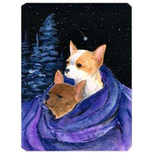 Carolines Treasures SS8513MP Starry Night Chihuahua Mouse Pad