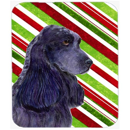 Carolines Treasures SS4540MP Cocker Spaniel Candy Cane Holiday Christmas Mouse Pad Hot Pad Or Trivet