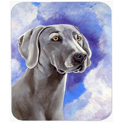 Carolines Treasures 7063MP 9.5 x 8 in. Azure Skies Weimaraner Mouse Pad Hot Pad or Trivet