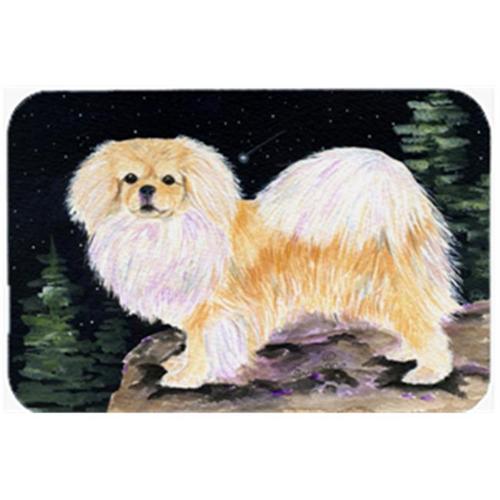 Carolines Treasures SS8504MP Starry Night Tibetan Spaniel Mouse Pad