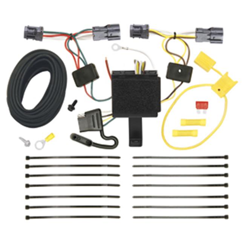 Tow Ready 118506 T-One Connector Assembly With Upgraded Circuit Protected Modulite HD Module 11.25 x 8 x 3 in.