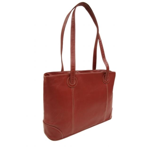 Piel 2719-RD Red Ladies Computer Tote