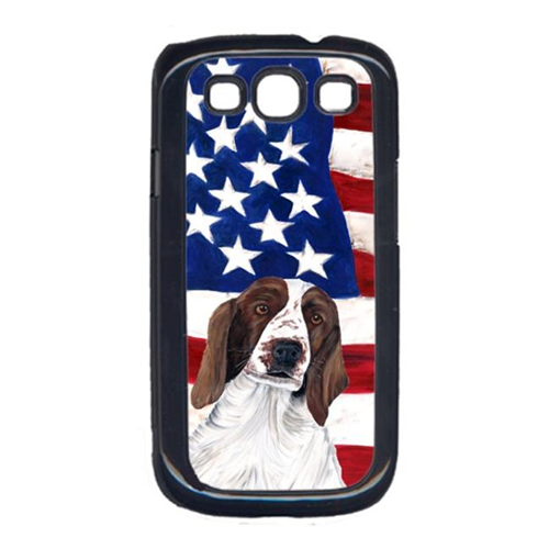 Carolines Treasures SC9024GALAXYS3 USA American Flag with Welsh Springer Spaniel Cell Phone Cover GALAXY S111