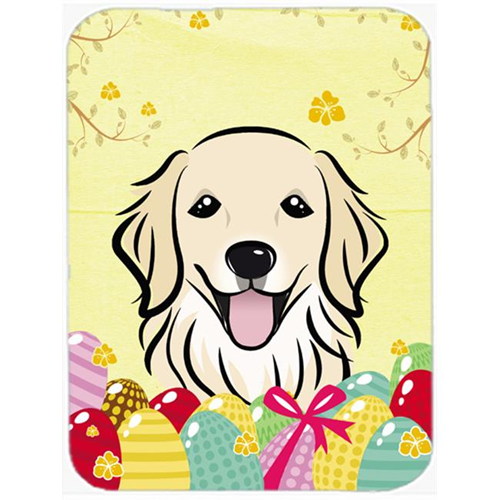 Carolines Treasures BB1887MP Golden Retriever Easter Egg Hunt Mouse Pad Hot Pad or Trivet