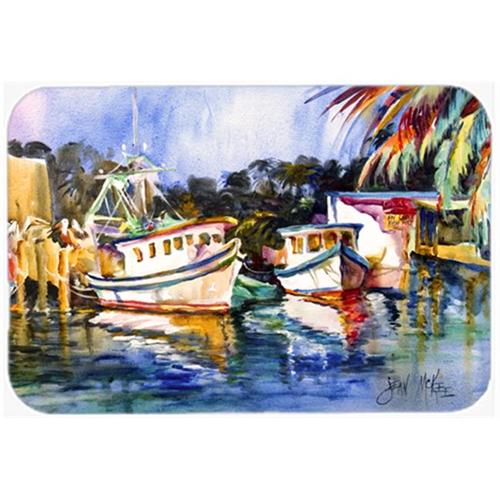 Carolines Treasures JMK1045MP Fly Creek Fish Market Mouse Pad Hot Pad & Trivet
