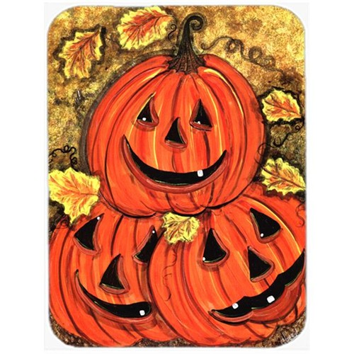Carolines Treasures CN5331MP 7.75 x 9.25 In. Stack of Pumpkins Jack-o-laterns Mouse Pad Hot Pad or Trivet