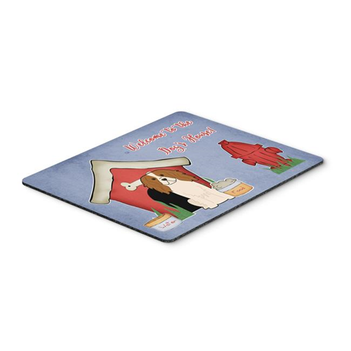 Carolines Treasures BB2812MP Dog House Collection Cavalier Spaniel Mouse Pad Hot Pad or Trivet