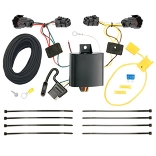 Tow Ready 118583 T-One Connector Assembly With Upgraded Circuit Protected Modulite HD Module 3.98 x 4.75 x 8.88 in.