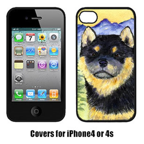 Carolines Treasures SS8274IP4 Shiba Inu Cell Phone cover IPhone 4