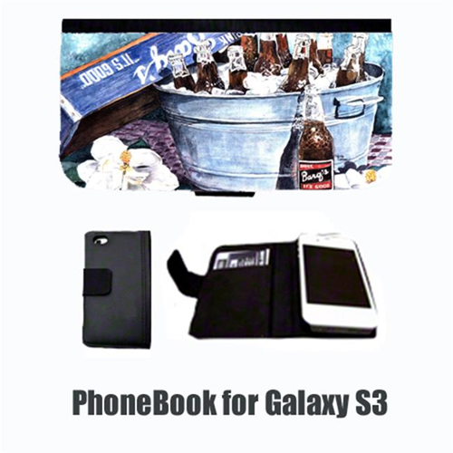 Carolines Treasures 1003-NBGALAXYS3 Barqs and old washtub Cell Phonebook Cell Phone case Cover for GALAXY S3