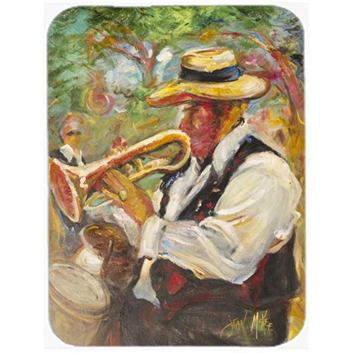 Carolines Treasures JMK1185MP Jazz Trumpet Mouse Pad Hot Pad & Trivet