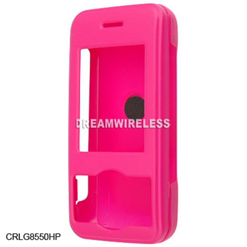 DreamWireless CRLG8550HP LG 8550 Rubber Case Hot Pink