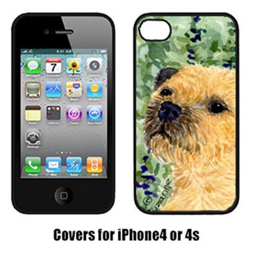 Carolines Treasures SS8801IP4 Border Terrier Iphone4 Cover