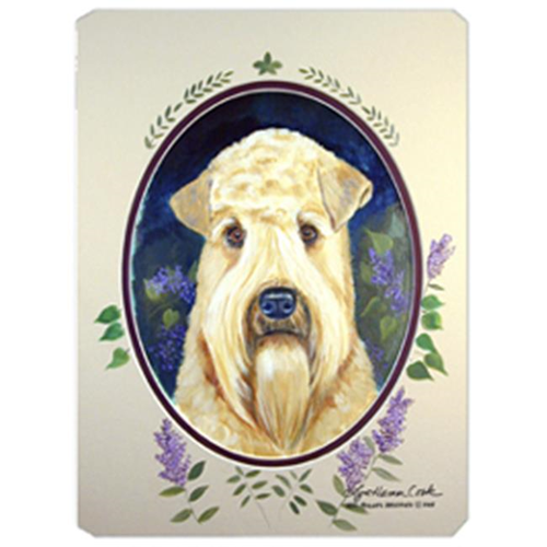 Carolines Treasures 7254MP 8 x 9.5 in. Wheaten Terrier Soft Coated Mouse Pad Hot Pad or Trivet