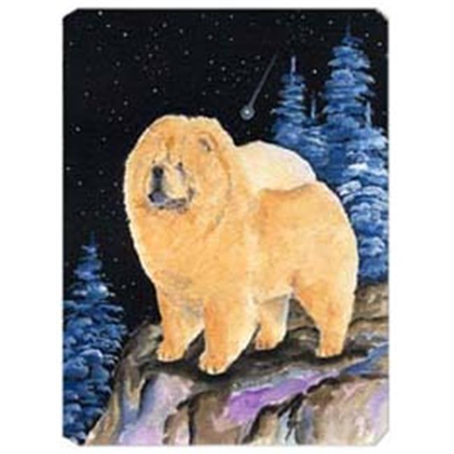 Carolines Treasures SS8454MP Starry Night Chow Chow Mouse Pad