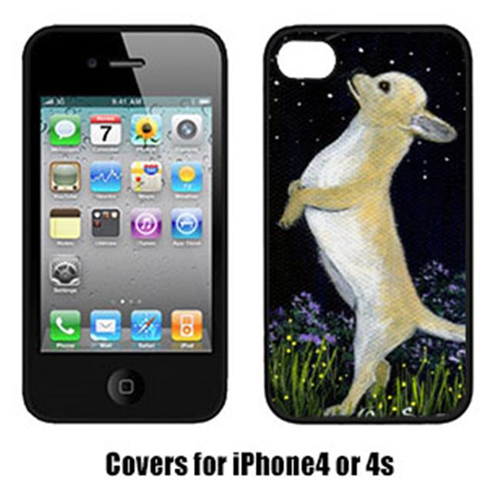 Carolines Treasures SS8152IP4 Chihuahua Cell Phone cover IPhone 4