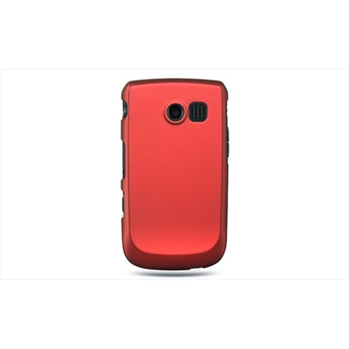 DreamWireless CRSAMR360RD Samsung Freeform II & R360 Crystal Rubber Case Red