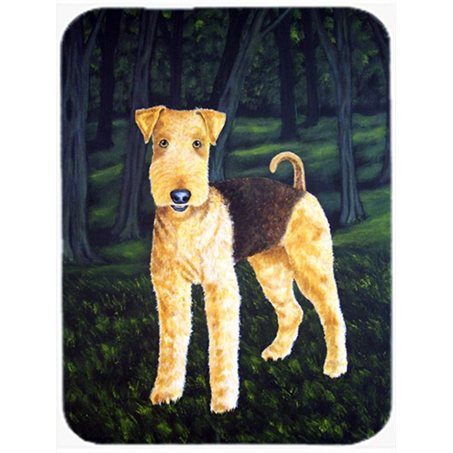 Carolines Treasures AMB1188MP Delta Airedale Terrier Mouse Pad Hot Pad or Trivet
