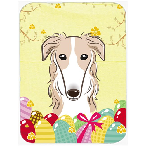 Carolines Treasures BB1910MP Borzoi Easter Egg Hunt Mouse Pad Hot Pad or Trivet